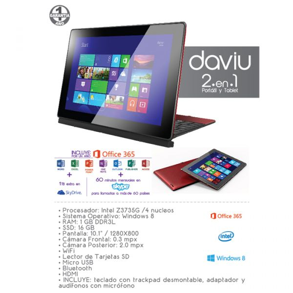 Tablet Apex Daviu